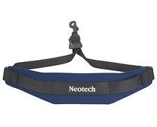 NEOTECH SOFT SAX STRAP, NAVY BLUE, COMFORTABLE SAX SLING, UK POST FREE