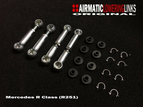 LINKAGES MERCEDES R CLASS R320 R500 R63 LINKS AIRMATIC LOWERING KIT R251