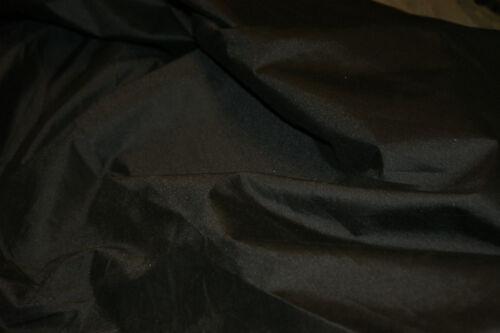 6oz BLACK NET NYLON COATED SHOWERPROOF FABRIC MATERIALCRAFTS SHEETING