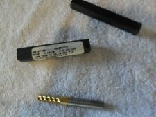 """1//2/"""" SOLID CARBIDE 3 FLUTE HI HELIX SINGLE ENDMILL TIN COATED BY BENCHMARK"""