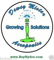 Dewey Mister Aeroponics Hydroponics Mister Cloning Save $$ W/ Bay Hydro $$