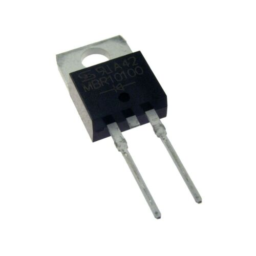 5 Schottky Barrier Rectifier MBR10100 Gleichrichter Diode 10A 100V TO-220 078566