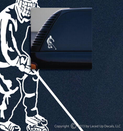 sm Roller Hockey Vinyl Decal,Inline Skates