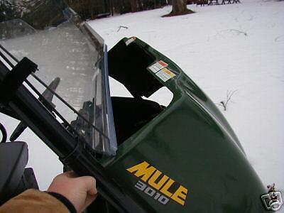 P//N 9653 Fits Kawasaki Mule Windshield MULE 3010
