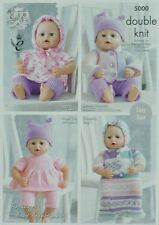 KNITTING PATTERN Premature Baby's EASY KNIT Collection Outfits DK King Cole 5000