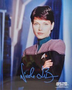 Details about Star Trek Deep Space 9 Autograph 8x10 Nicole de Boer