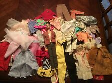 Lot of Vintage Ken and Barbie Clothes with Ken Doll 1960s Brown Hair