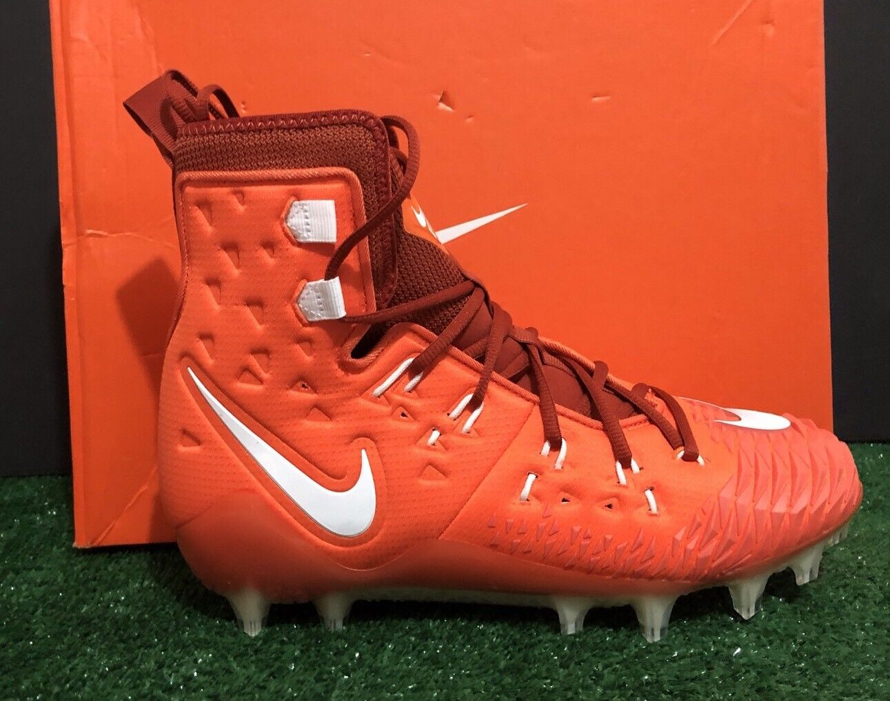441640dbd56 NIKE FORCE SAVAGE ELITE TD FOOTBALL CLEATS CLEATS CLEATS 857063-816 orange  MEN SIZE 10.5 ef0357