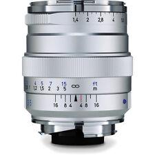 Carl ZEISS 35mm f1.4 DISTAGON T* ZM Lens SILVER  Leica M Mount COSINA JAPAN