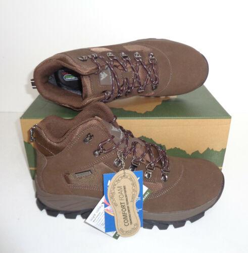 Wyre Valley Mens Waterproof Memory Foam Walking Hiking Trekking Boots Sizes 7-12