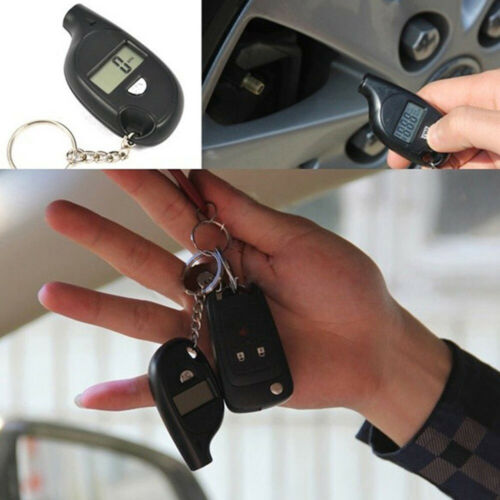 Portable Tire Pressure Guage Digital Air Checker Car Bike Truck LCD Display