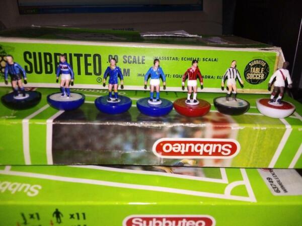 Spare Players Subbuteo Lw Hw Hybrid Vintage Inter Milan Juve Samp Verona Arsenal