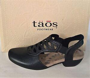 173b7774f Taos Shoes leather comfort dress sling back heels Taos Footwear ...