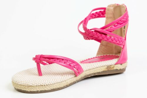 Girls toddlers /& youth spring,summer flat spandril T-strap sandals size 8-4