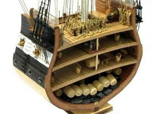 Uss-Constitution-Nautical-Ship-Scale-1x75-Model-Boat-Old-Wooden-Assembling-Kit