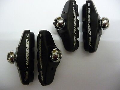 *FRONT* Pair of Cycle Caliper Bike Brake Blocks Pads Shoes Jagwire *New*