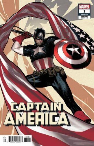 Captain America #1 2018 MARVEL Comics Adam Hughes Variant Cover NM