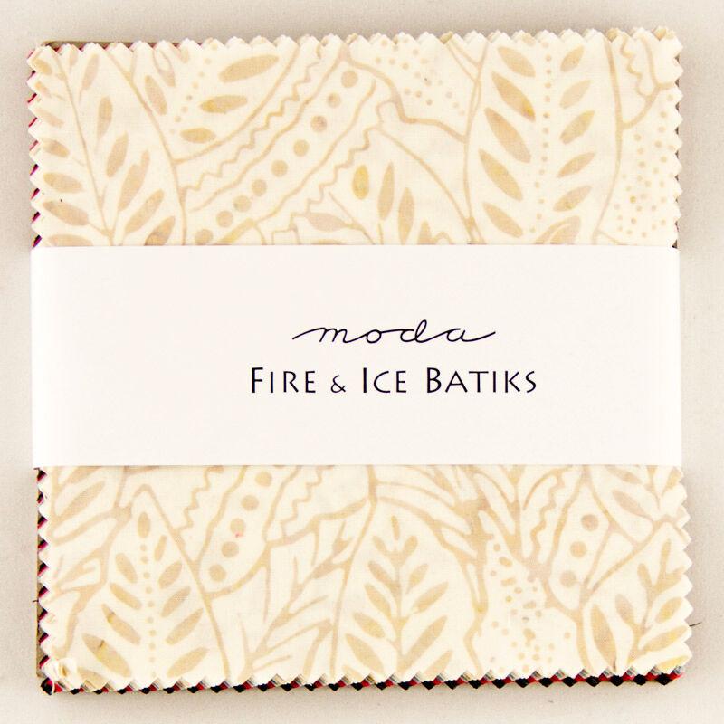 MODA Fire /& Ice II Batiks Charm Pack Classics; 42-5 inch Precut Fabric Quilt Squares