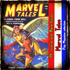 Marvel-Tales-Science-fiction-Fantasy-Pulp-Magazine-collection-Stories-books