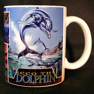 Ecco the Dolphin - Coffee MUG CUP - Sega Megadrive - Genesis