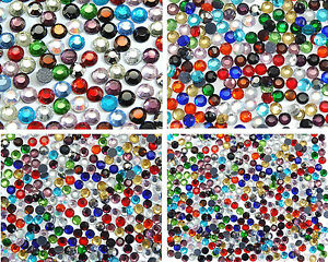 3-Selections-for-Random-Mix-of-Hot-Fix-Iron-On-Rhinestones-in-Varies-Sizes