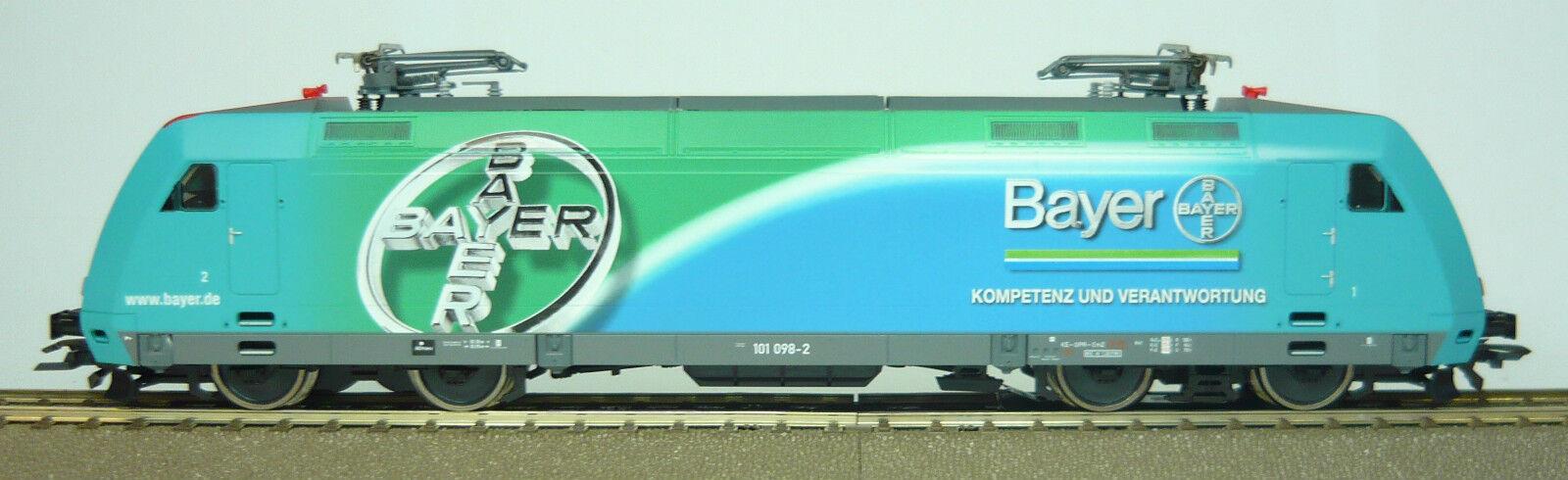 """Roco 69723 Elektrrolok BR 101 098 -2 """"Bayer """" der DB Digital AC NEU & och OVP"""