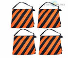 4Pcs Orange Sandbags Photo Studio Film Boom Arm Light Stand Saddle Sand Bag Set