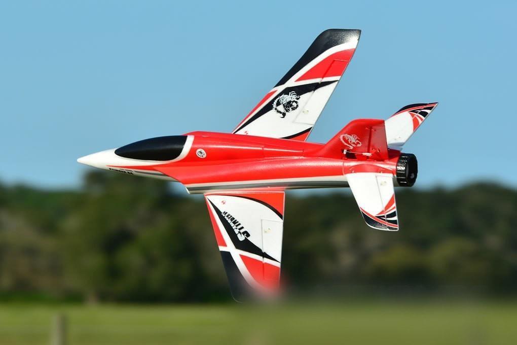 Freewing Stinger 4S de alto rendimiento Rojo Rojo 64 mm Earth Defense flota Jet-PNP  solo cómpralo