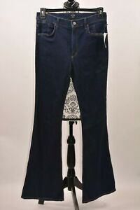 Citizens-Of-Humanity-Women-039-s-Jean-Fleetwood-High-Rise-Flare-Navy-Blue-Size-31