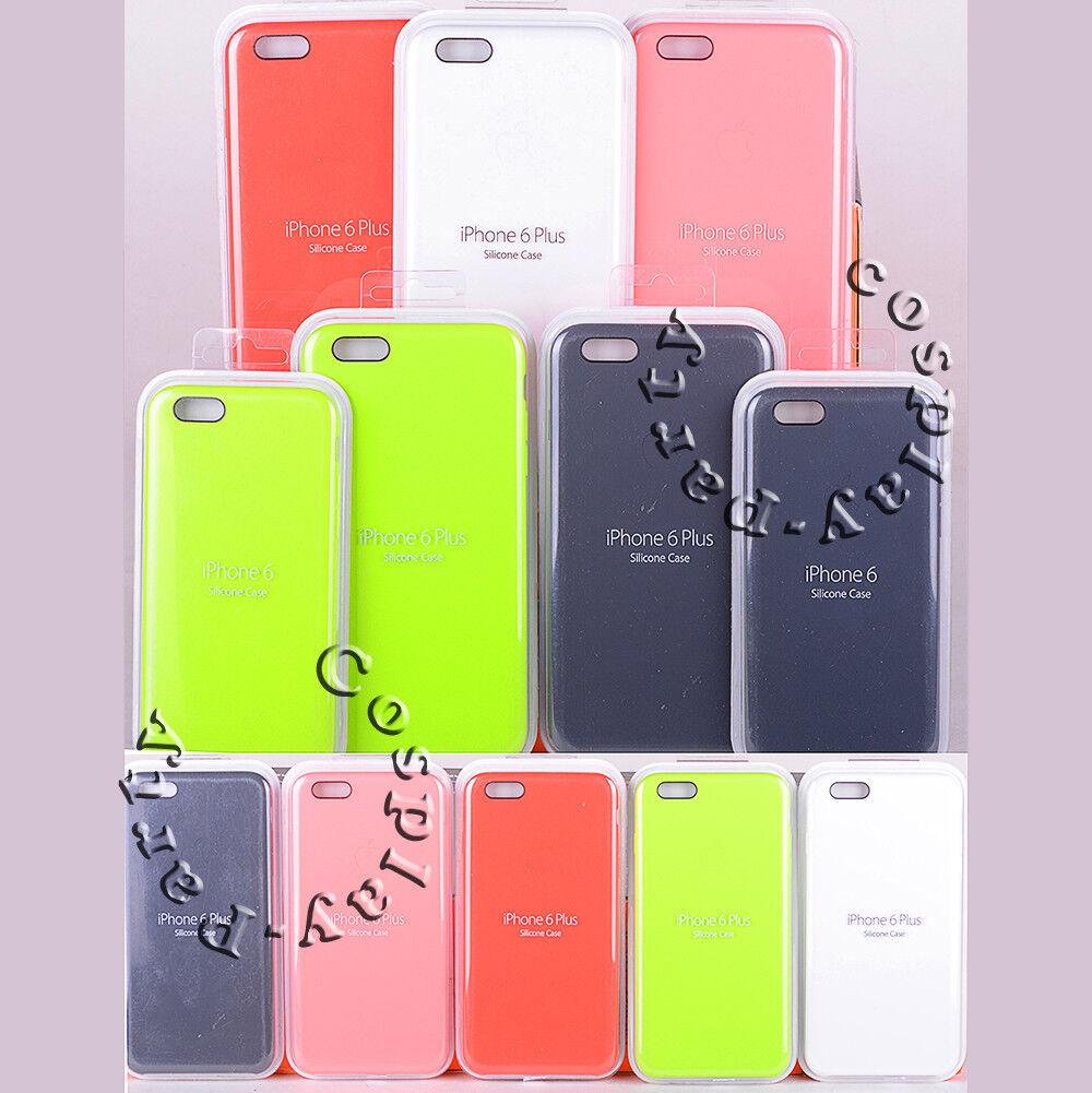 size 40 e22b1 13615 Details about Original Apple Silicone iPhone 6 iPhone 6s & iPhone 6 Plus  iPhone 6s Plus Case
