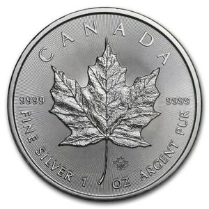 CANADA-5-Dollars-Argent-1-Once-Maple-Leaf-2020