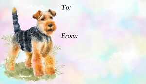 Welsh-Terrier-Dog-Self-Adhesive-Peel-Off-Gift-Labels-Design-No-2-by-Starprint