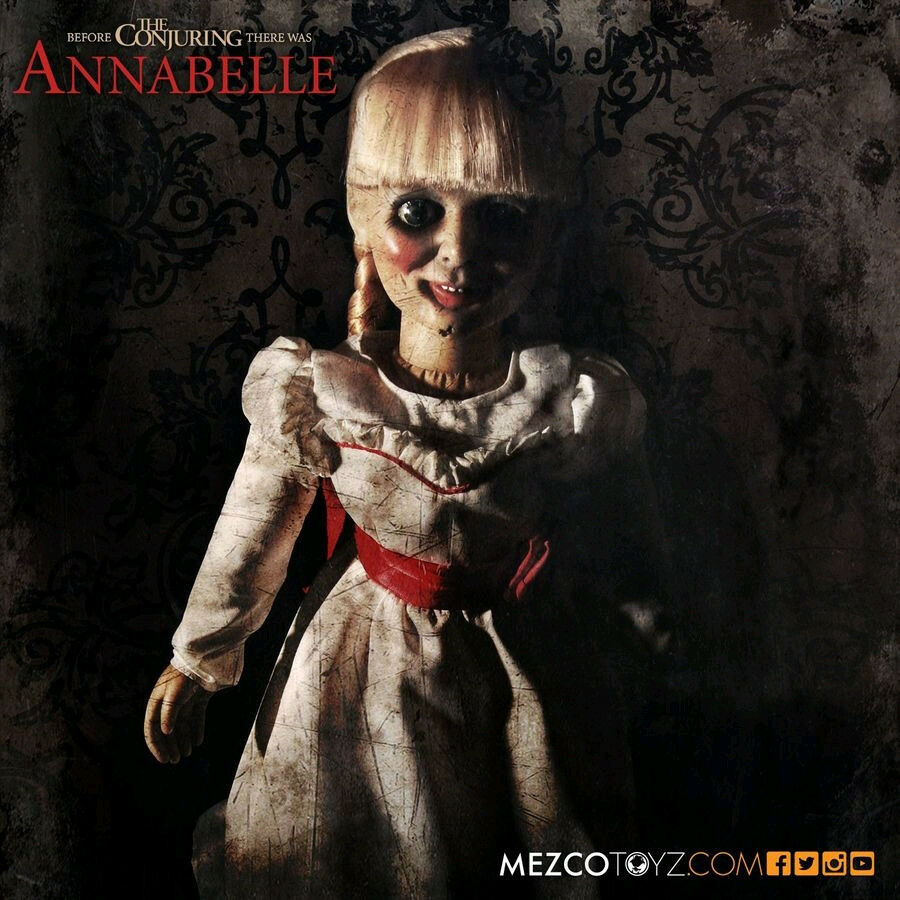 The Conjuring - 45cm(18 ) Annabelle Prop Replica Doll