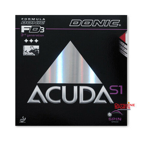 DONIC Acuda S1 Table Tennis Rubber