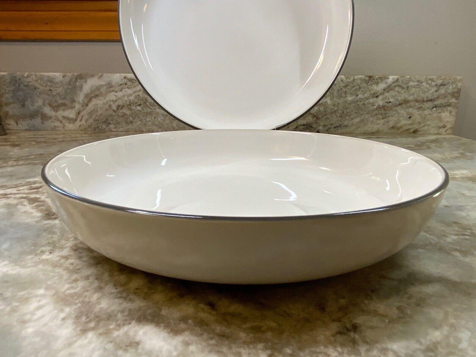 NEW Royal Doulton Gordon Ramsay Bread Street White Pasta Bowl