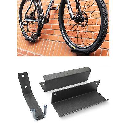 Bike Wall Mounted Hanger Bicycle Rack Pedal Hook Display Storage Brackets Mtb Ebay