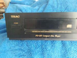 Vintage-TEAC-CD-Player-lese-Beschreibung