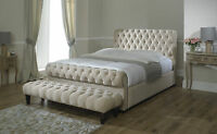Park Lane Chesterfield Bed Frame 3ft Single 4ft6 Double 5ft King Size