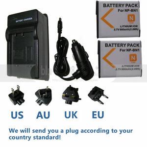 Battery-Charger-For-Sony-NP-BN1-DSC-W610-DSC-W570-DSC-W560-DSC-W530-DSC-W510