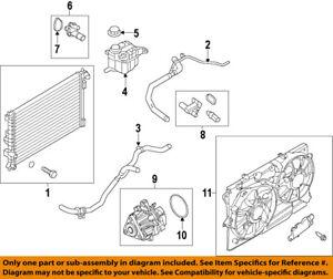 Genuine Ford Fan Assembly DB5Z-8C607-D