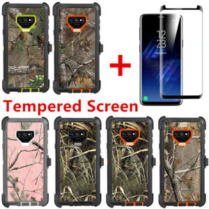size 40 028ba 534f2 Details about For Samsung Galaxy Note 9 Camo Case Cover w/Screen (Clip Fits  Otterbox Defender)