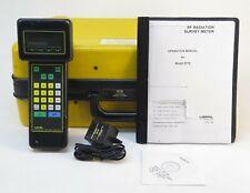 Narda 8718 Electromagnetic Radiation Survey Meter 3 Khz To 40 Ghz No Probe