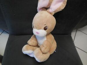doudou-peluche-lapin-beige-marron-rose-H-amp-M-20cm-2-dispo