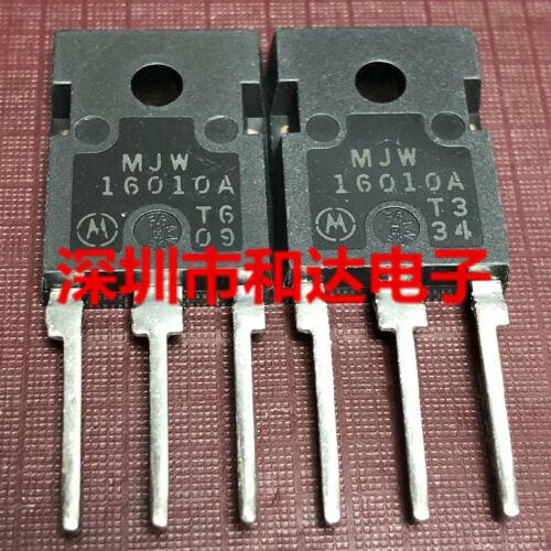 5 x MJW16010A Silicon NPN Power Transistor TO-247 500V 15A