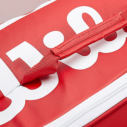 Wilson Vancouver Tennis Badminton Bag Backpack 9 Pack Red 2018 NWT WRZ-840709
