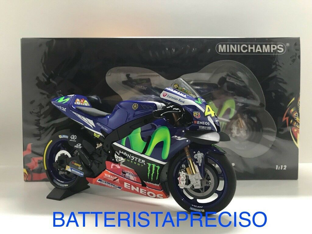 MINICHAMPS VALENTINO ROSSI 1 12 YAMAHA M1 2016 FREE PRACTICE SEPANG 122163346