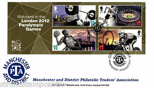 2012 London Paralympics M/S - Manchester PTA Official