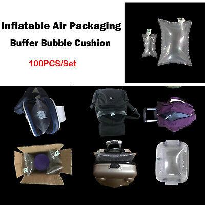 100PCS//Set Clear Bags Inflatable Air Packaging Buffer Bubble Cushion Wrap Bags