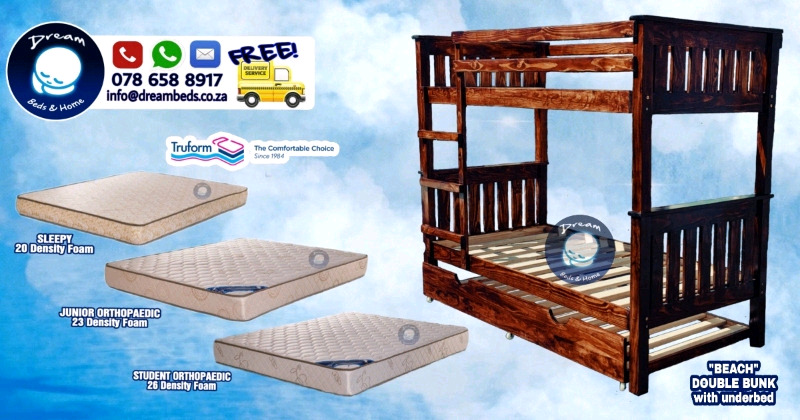 Dbl Bunk Beds and more Brand New