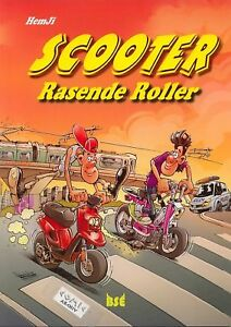 SCOOTER-Rasende-Roller-Comic-Album-SC